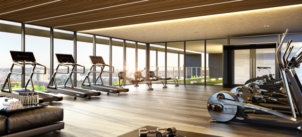 Gym Gasworks Residences by TDD