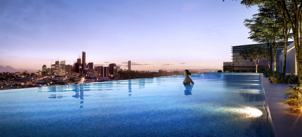 Pool Gasworks Residences by TDD